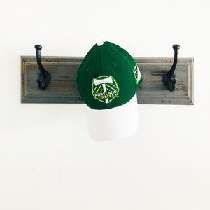 NWT Portland Timbers MLS Green Adidas Hat L/XL